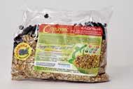 Хлопья из пророщенного зерна пшеницы с черникой  (0,3 кг.)